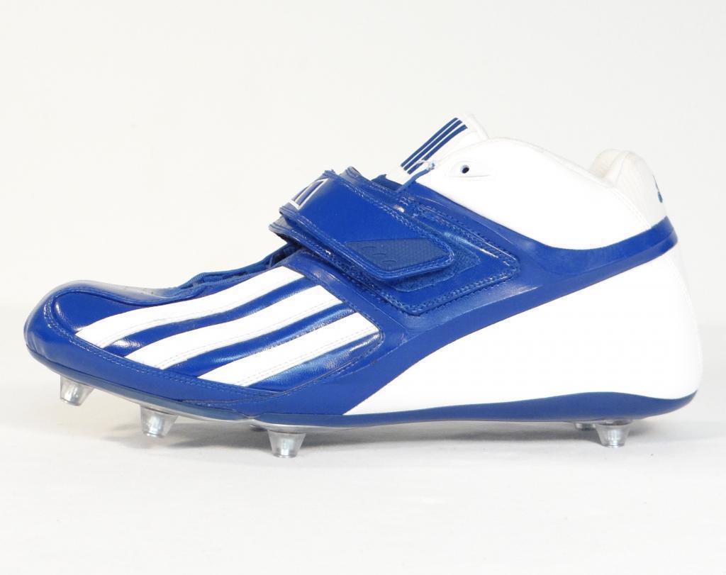 Adidas Quikslant D Mid labdarúgó csukló Royal Blue &Fehér Mens ÚJ