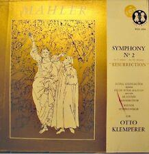 OTTO KLEMPERER/STEINGRUBER/ROSSL-MAJDAN resurrection symphony 2 MAHLER 2LP'S VOX