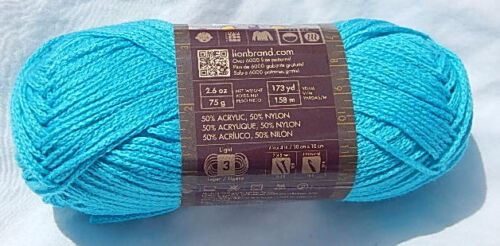 """Lion Brand /""""Modern Baby/"""" in Turquoise New /& Smoke Free Home"""