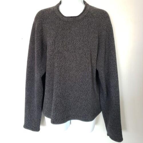 Vintage John Rich & Bros Woolrich Black Grey Knit… - image 1