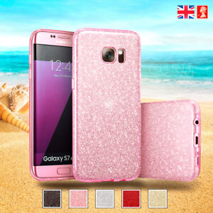 the best attitude f92fe b9a3d Details about Samsung Galaxy S8 Plus Case ☆ Sparkling Glitter Crystal Thin  Shockproof Cover