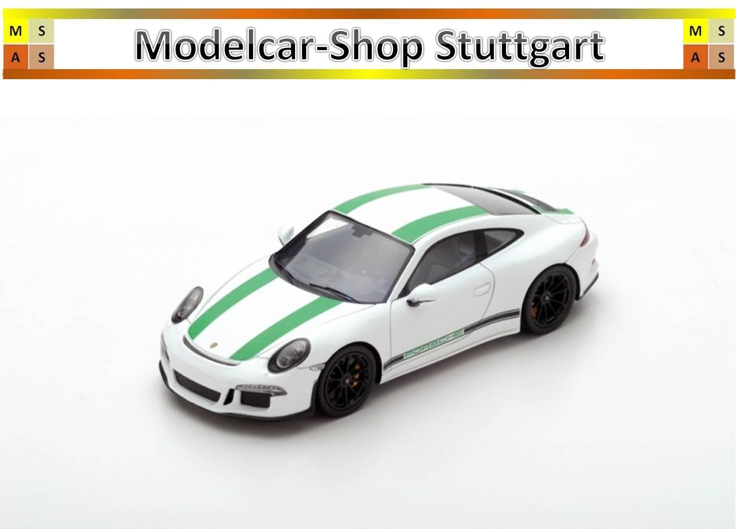 PORSCHE 911 R 2017 Blanc-Spark 1 43 - Neuf