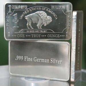 1 Oz One Troy Ounce Usa American Buffalo 999 Fine German