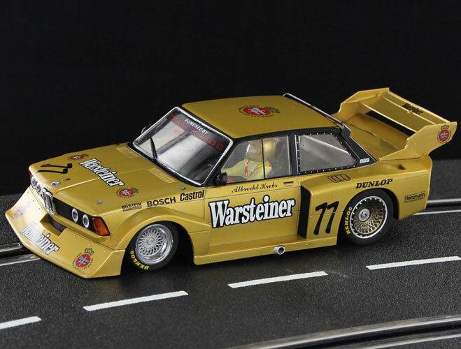 Racer Sideways BMW 320 Group 5 Warsteiner Zandvoort DRM 1979 Slot Car 1 32 SW50