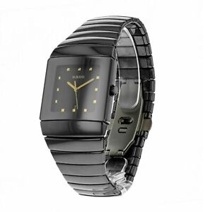 Rado-Sintra-Quartz-Men-039-s-Ceramic-Watch-R13335162