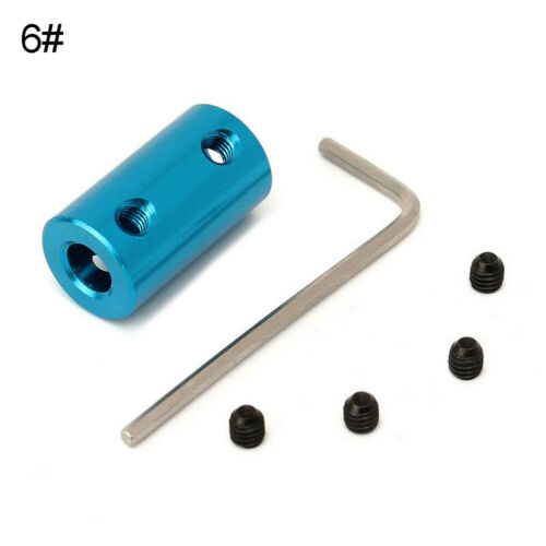 WO/_ 2-8mm Hex  Motor Shaft Coupling Joint Coupler fr RC Car Truck Train Boat