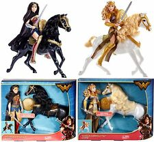 """Wonder Woman Movie 2017 12"""" Doll with Horse & Queen Hippolyta with Horse set"""