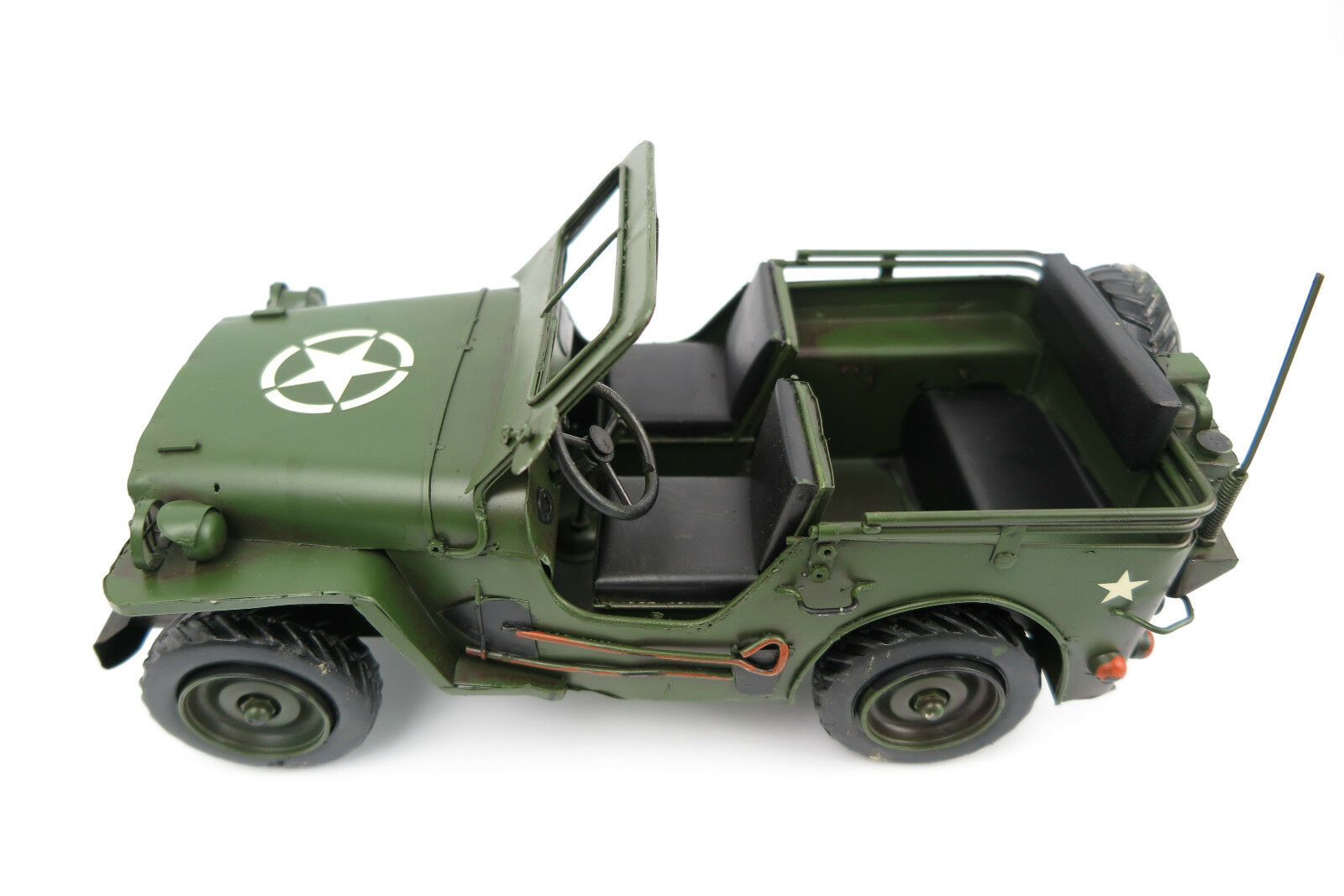 Tôle ami jeep us army 2.wk voiture miniature