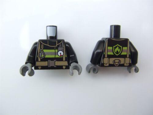 - 6143834 2 x Lego Black Figurine Upper Body Parts No.2188 pièces et morceaux