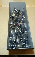Big Lot of (30) 6A7 Radio Vacuum Tubes Various Brands ST type 7 Pin #S.100