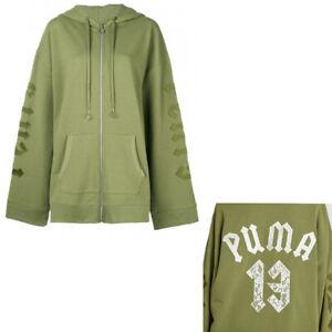 Fenty Puma By Rihanna Fleece Hoody With Harness Vanilla Ice XL