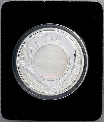 Enthusiastic 2015 Australia Mother Of Pearl Shell 1 Oz Silver Coin W Box/coa Free S/h