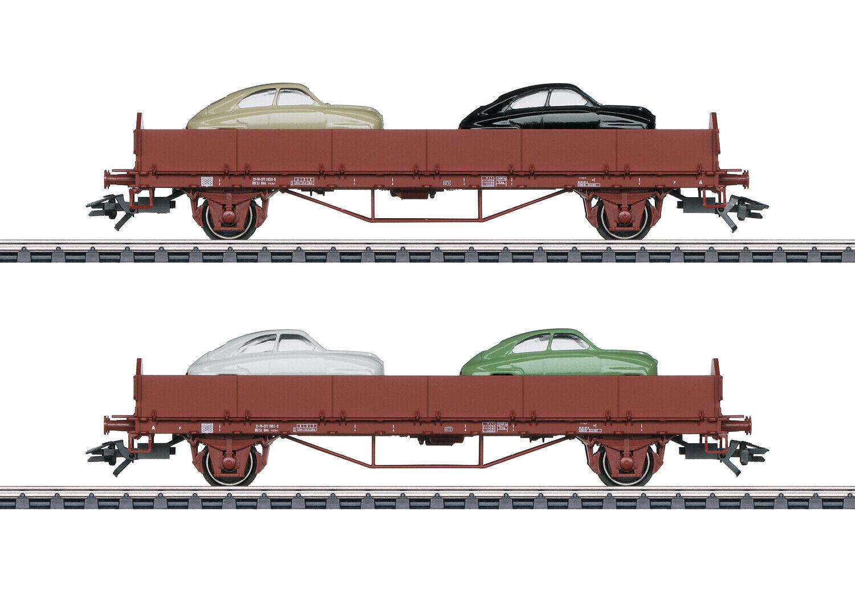marklin 45084 correregenwagenSet SAAB 92 della SJ 2 pezzi  neu in OVP