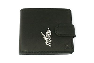 Leaf Fairy Mens Leather Wallet Black Or Brown Fairy Gift 121 Mit Traditionellen Methoden