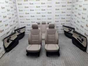 MANUALES-DE-CUERO-BEIGE-Juego-asientos-completo-Bmw-serie-3-berlina-e90-885235