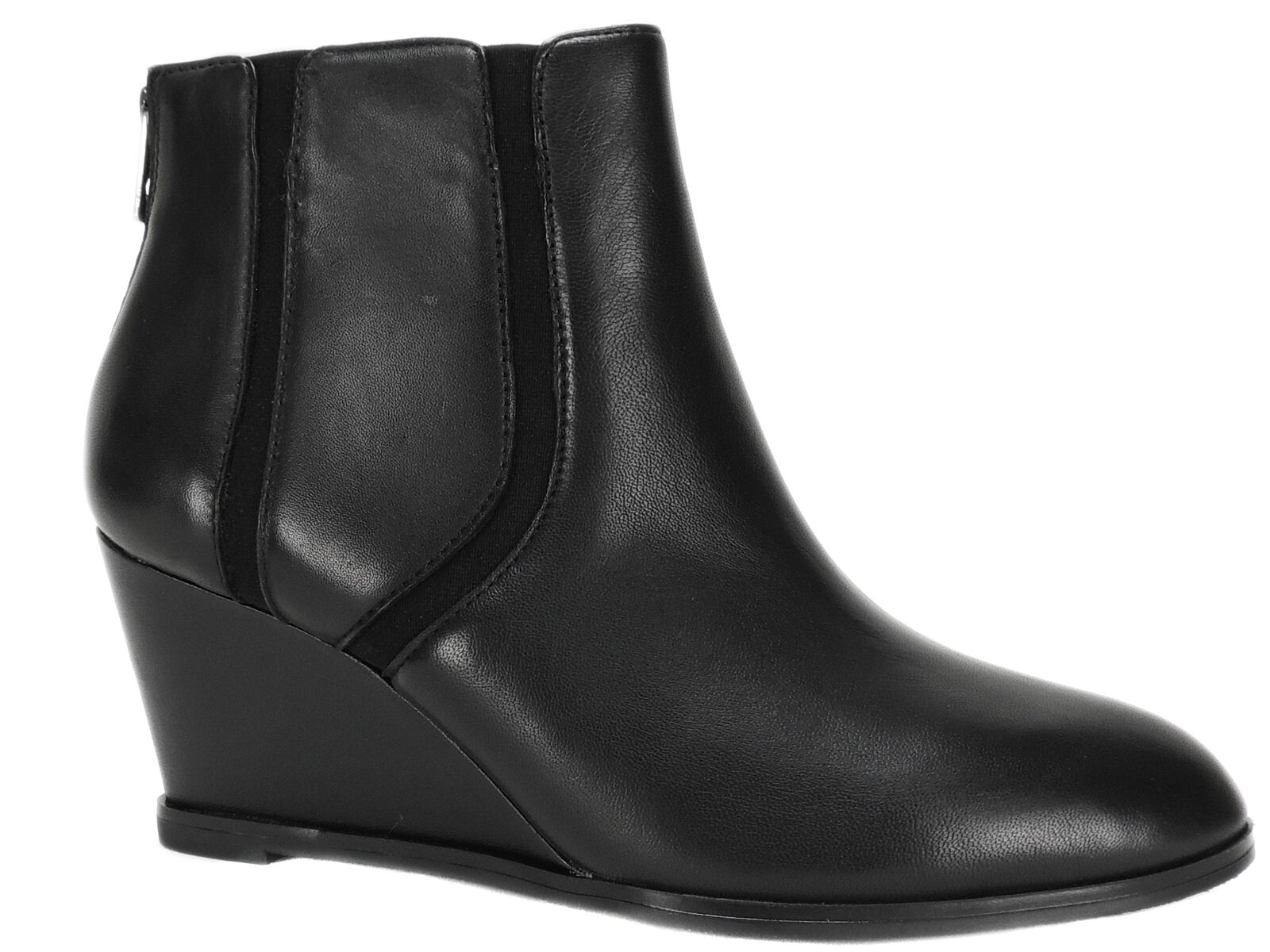 in cerca di agente di vendita Alfani Donna Donna Donna  Calistah Wedge Ankle stivali nero Leather Dimensione 7.5 M  Sconto del 40%