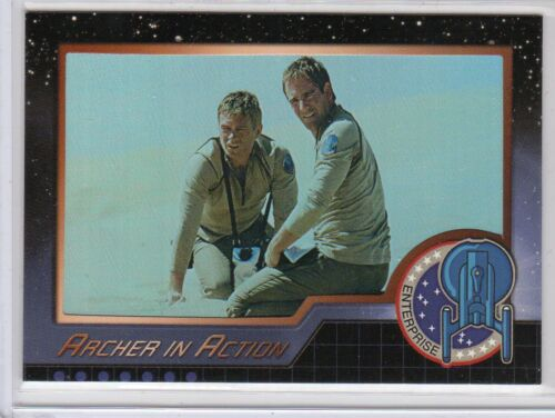 Star Trek Enterprise Season 4 AIA1 thru AIA9 Archer in Action card set