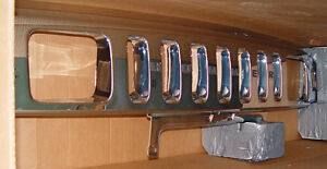 Hummer-Brand-GM-General-Motors-FEO-H2-Front-Grille-Chrome-Brand-New
