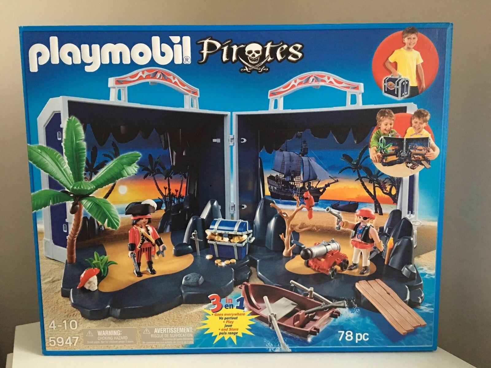 Playmobil 5947 Pirate Treasure Chest Set  NEUF