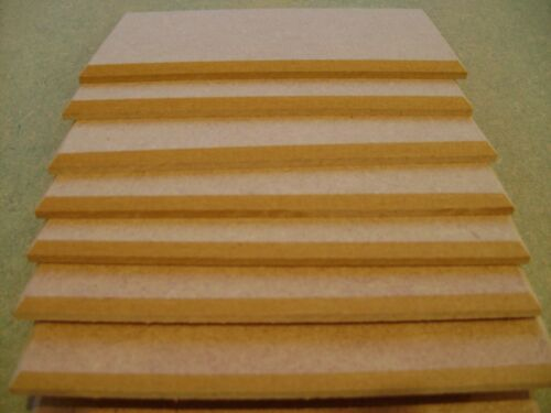 """12 X 8/"""" x 4/"""" WOODEN  PLAQUES BLANKS CHAMFERED EDGE TOP QUALITY MDF"""