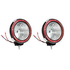 Pair 7 Inches 4x4 Off Road 6000k 55w Xenon Hid Fog Lamp Light Flood 2pcs