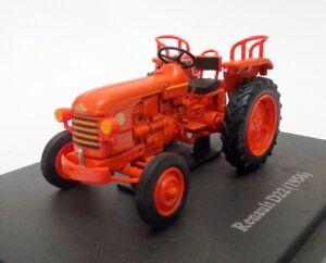 Hachette-Tractor-de-modelo-de-escala-1-43-HT037-1956-Renault-D22-Naranja