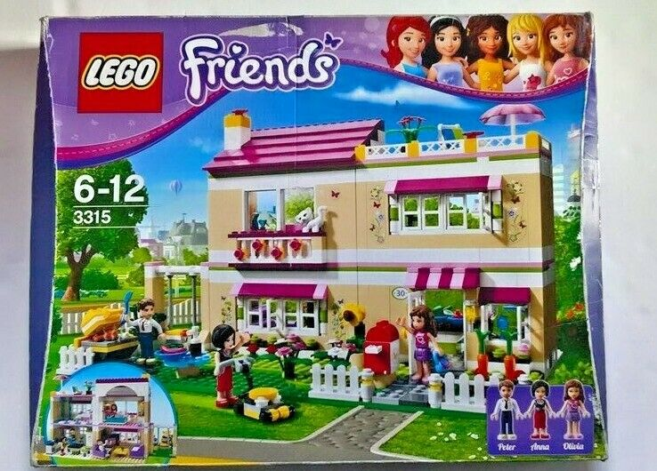 LEGO FRIENDS OLIVIA'S HOUSE - 3315 - 'VERY RARE AND HARD TO FIND'