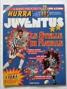 HURRA-039-JUVENTUS-N-1-GENNAIO-1994-FASCICOLO-ROBERTO-BAGGIO-PALLONE-D-039-ORO