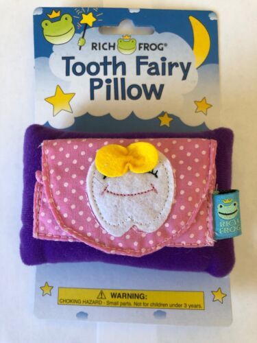 Tooth Fairy Pillow,Tooth With Bow Pokadot print fabric for girls