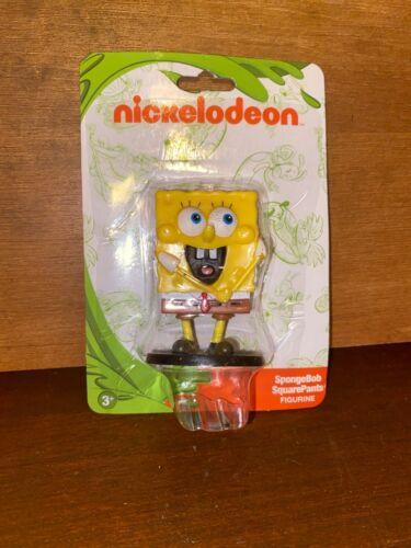 "New Nickelodeon SpongeBob SquarePants TV Show Collectible Figurine 2/"" Toy"