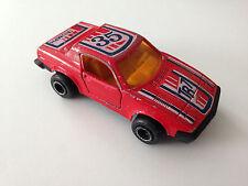 Majorette France Diecast HTF Triumph TR7 Red 1:53 Scale Model Car #202