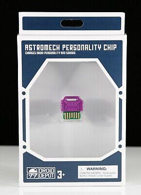 Disney Star Wars Galaxy/'s Edge Droid Depot Chip personalidade Smuggler Roxo