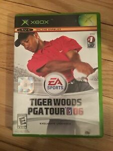 EA-SPORTS-TIGER-WOODS-PGA-TOUR-06-XBOX-COMPLETE-WITH-MANUAL-FREE-S-H-HH