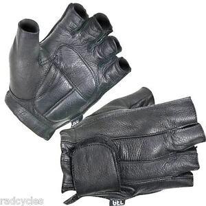 Xelement-XG-850-Fingerless-Deerskin-Gel-Palm-Motorcycle-Gloves-X-Large