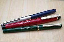 Set Of 3 Camlin kokuyo Fountain Pens-F.P-47(Piston-Filler)FP-2(ED),FP-MINI(E.D)