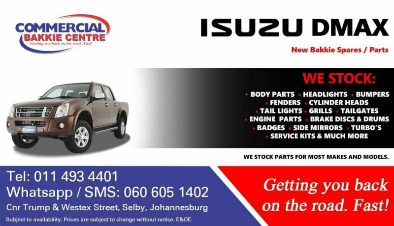 Isuzu Dmax Parts and Spares For Sale