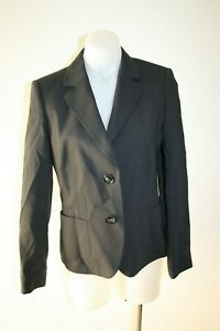 BASLER-navy-blue-wool-jacket-size-36-AU-8-450-NEW