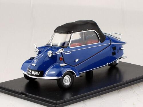 Messerschmitt kr200 Bubble top azul oscuro 1:18 Oxford maqueta de coche mbc006