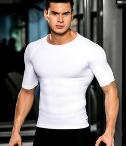 3d78dc4312 Image is loading Mens-Tummy-Tucker-Trimmer-Stomach-Flattening-Abdominal -Binder-