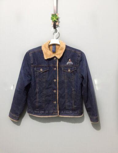 Disney Blue Denim Jacket Mickey Mouse Legendary Fa