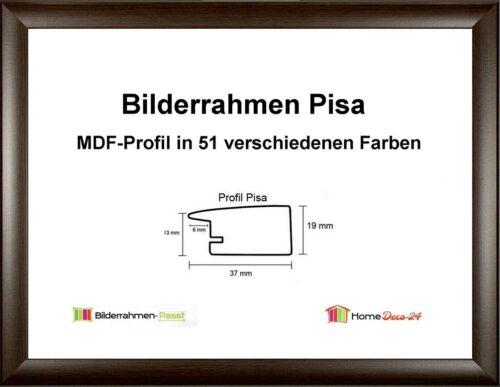 Pisa MDF Cadre Photo holzdekor II de 33 x 90 à 33 x 99 cm