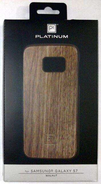 huge selection of dc50b f5d0b Platinum Hard Shell Case for Samsung Galaxy S7 Wood Walnut