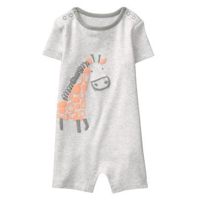NWT Gymboree Giraffe Romper Baby Boy Newborn Essential many sizes