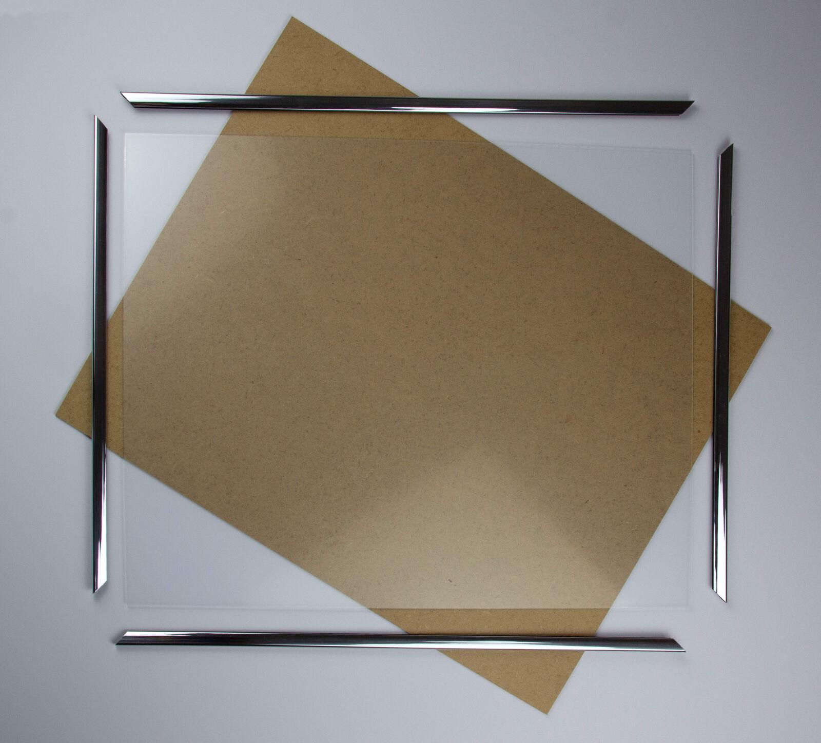Kunststoff Bilderrahmen Plastik Styx Poster Größenwahl Rabatt Günstig Silber