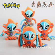 "4X New POKEMON Deoxys Attack Defense Speed Plush Doll Soft Toy 6"" Kids Xmas Gift"