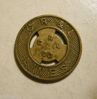 New Britain, Connecticut R transit token Lines C CT290K /& L