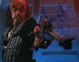 size 40 50% price website for discount Details about CHRISTOPHER LLOYD.. Star Trek lll: The Search For Spock's  Comm. Kruge - SIGNED
