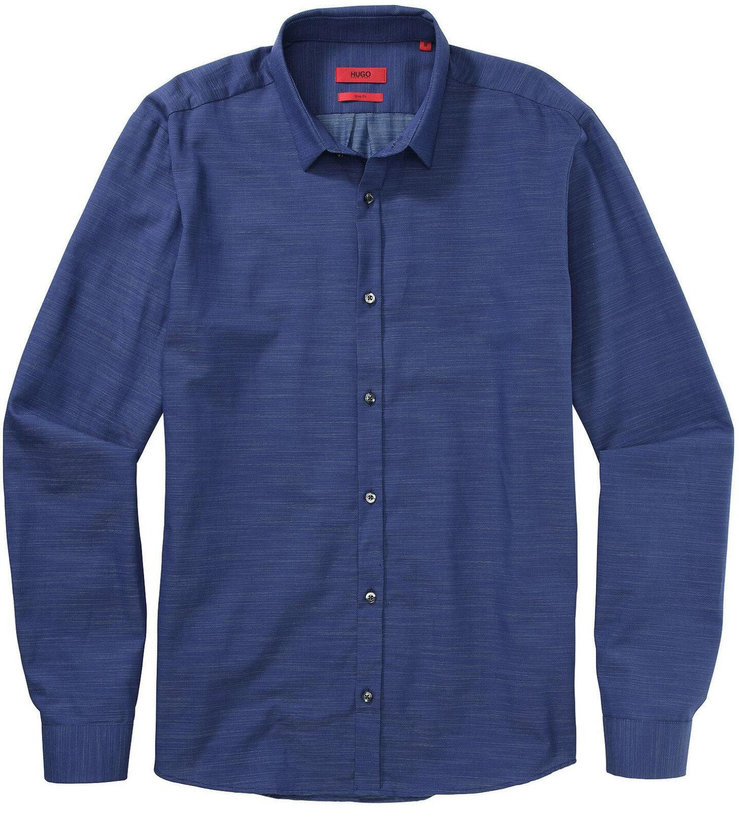 NWT HUGO (Red Label By Hugo Boss) Slim Fit Pin Dot Pattern Sport Shirt  Size M