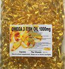 OMEGA-3 Fish Oil 1000mg 30 Capsules