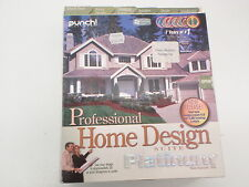 Item 4 PUNCH SOFTWARE PROFESSIONAL HOME DESIGN SUIT PLATINUM VERSION 10   PUNCH SOFTWARE PROFESSIONAL HOME DESIGN SUIT PLATINUM VERSION 10